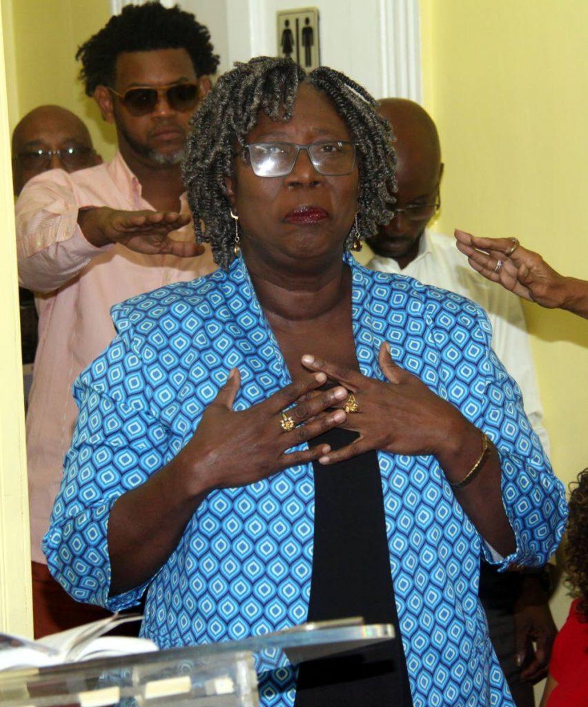 President of Pan Trinbago, Beverley  Ramsey-Moore