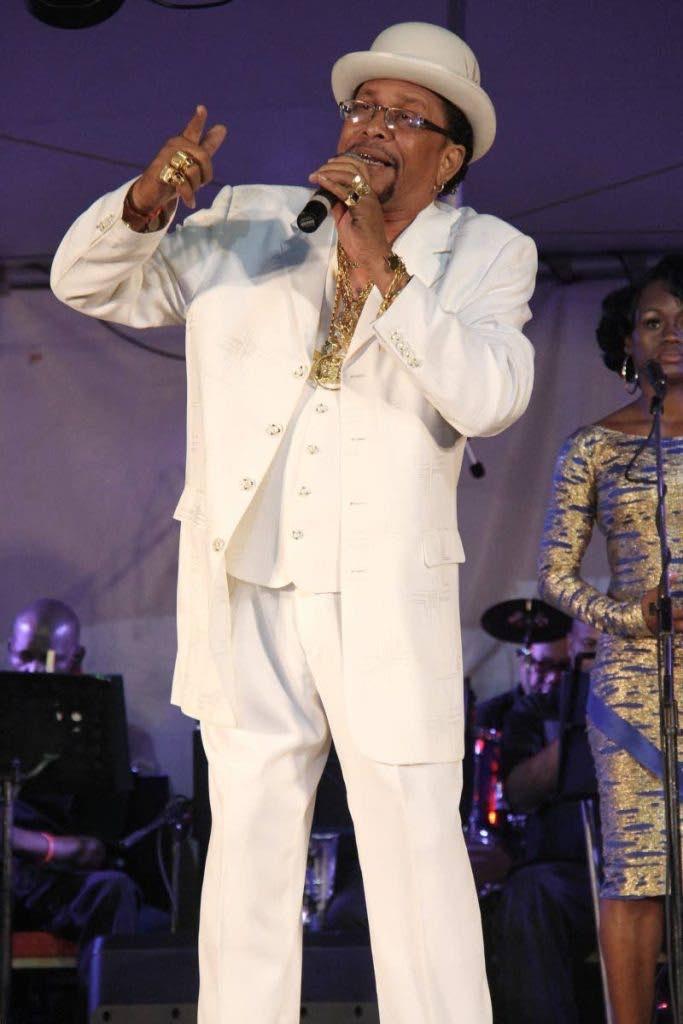 "Michael ""Sugar Aloes"" Osouna,  manager of Kalypso Revue."