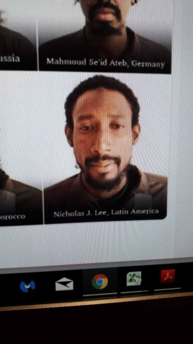 Trinidadian Nicholas Lee who is believed captured by anti-ISIS fighters in Syria.