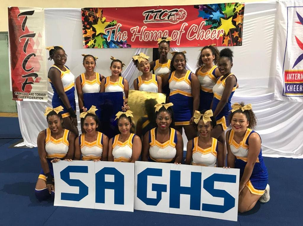 St Augustine Girls High School cheerleaders will be making their debut at the World Cheer Championships on Orlando, Florida this weekend.