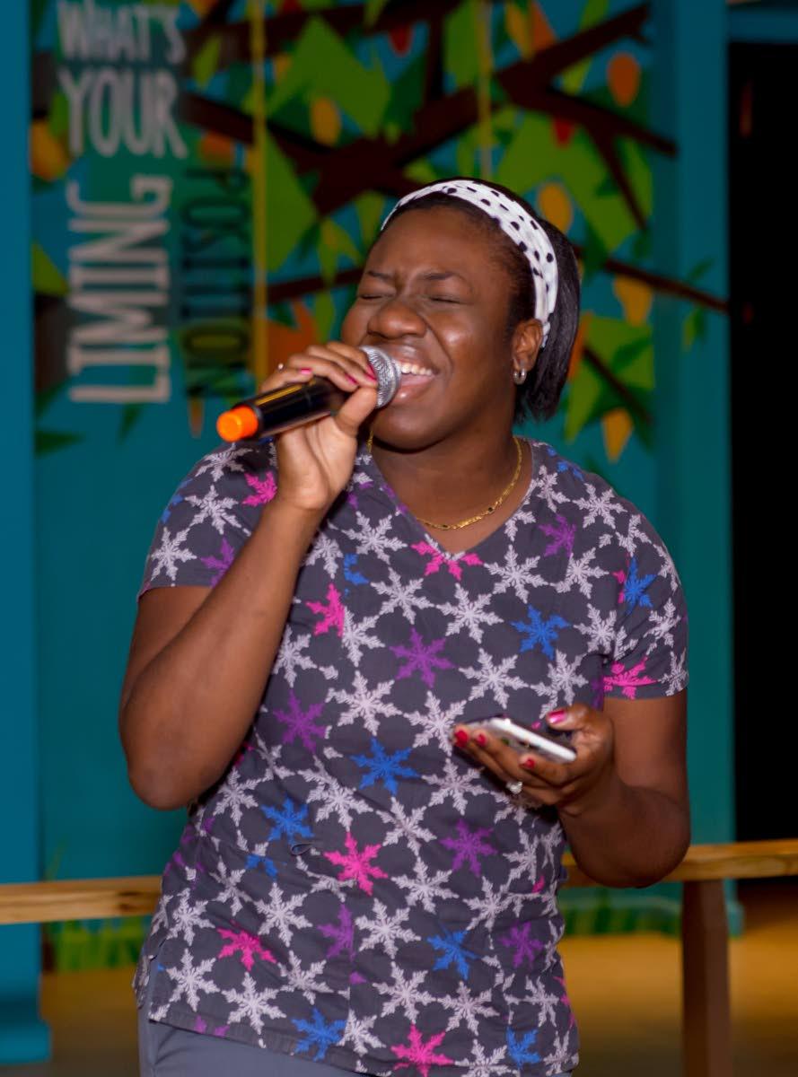 Ju-ne' Thomas performs Bob Marley's Redemption Song.