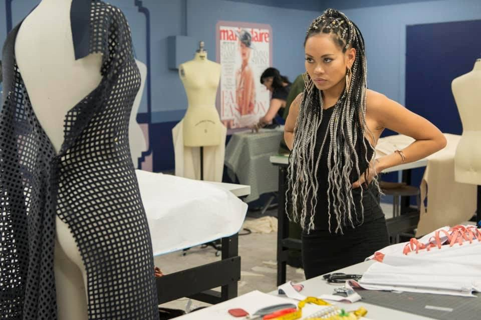 TT designer Anya Ayoung-Chee on Lifetime television show Project Runway All Stars.