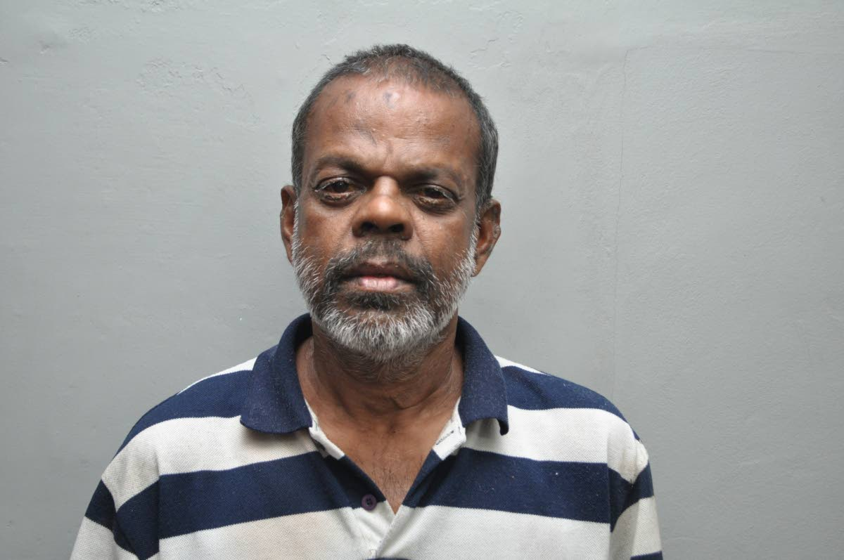 CHARGED: Bickram Balkissoon who is charged with the murder of Neathasingh Ramsingh. PHOTO COURTESY TTPS