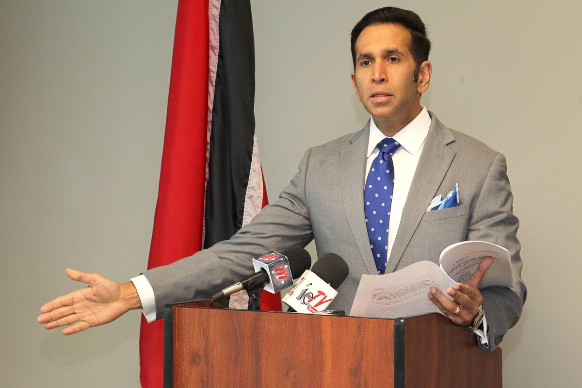 Attorney General Faris Al-Rawi PHOTO BY ROGER JACOB.