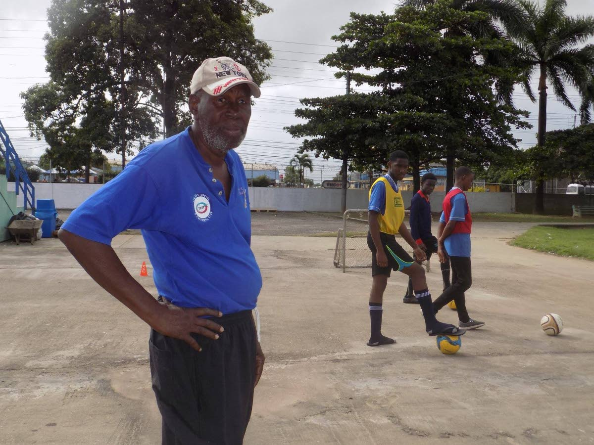 Beetham resident Michael Paul, left is on a mission to try and save Laventille's youths from gangs and drugs by offering them a positive alrternative to the streets