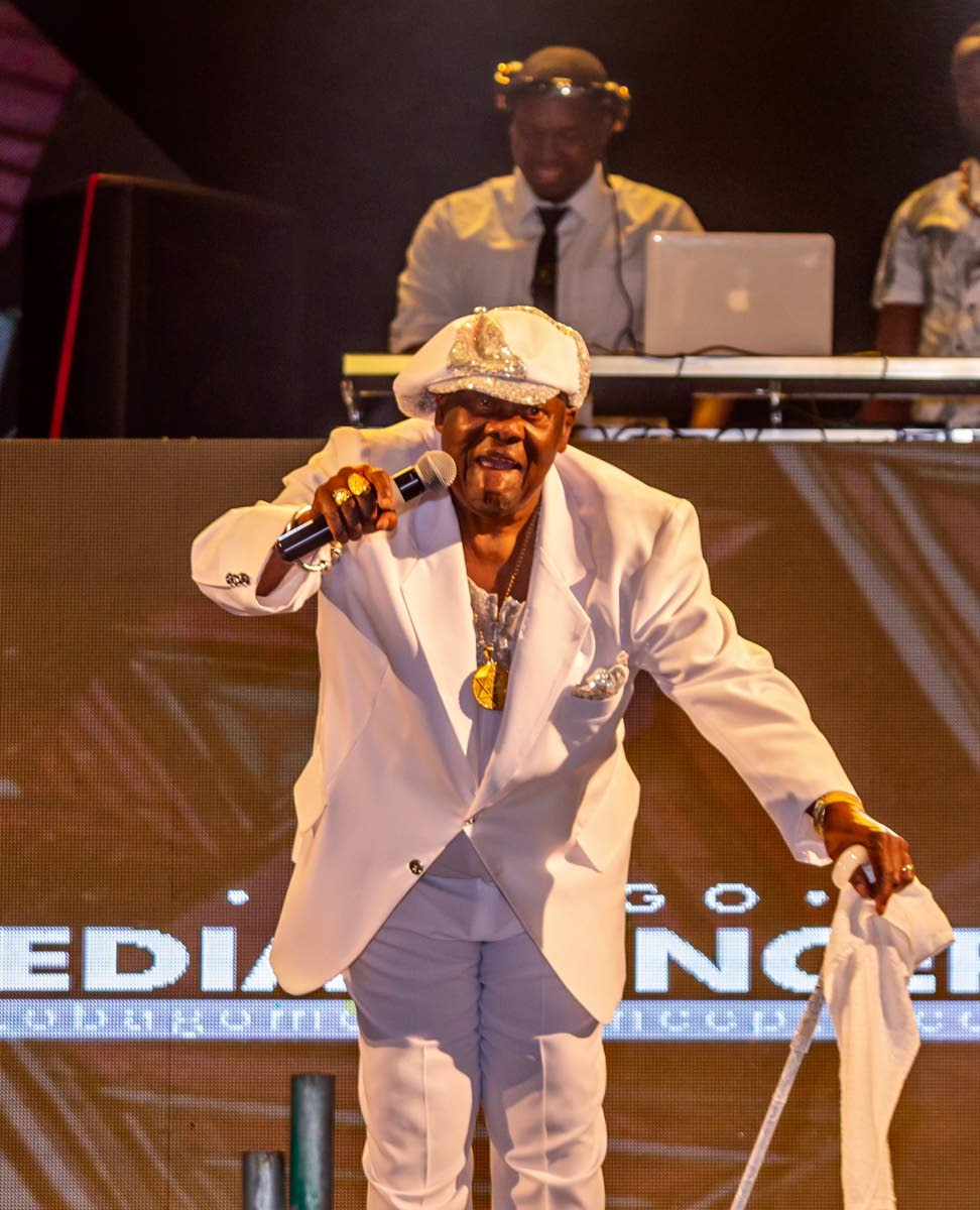Tobago-born calypsonian Lord Nelson (Robert Alphonso Nelson) was last Saturday presented with a Lifetime Achievement award for his devotion and commitment to Trinidad and Tobago and soca music - spanning 60 plus years and counting, at the Randy Glasgow Productions, Tobago Loves Soca (TLS) weekend, at Canoe Bay Beach resort last Saturday.