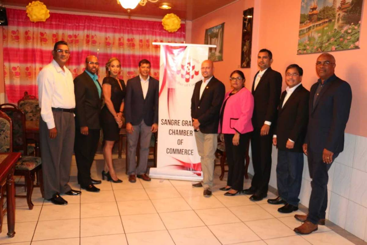Sangre Grande Chamber of Commerce Executive