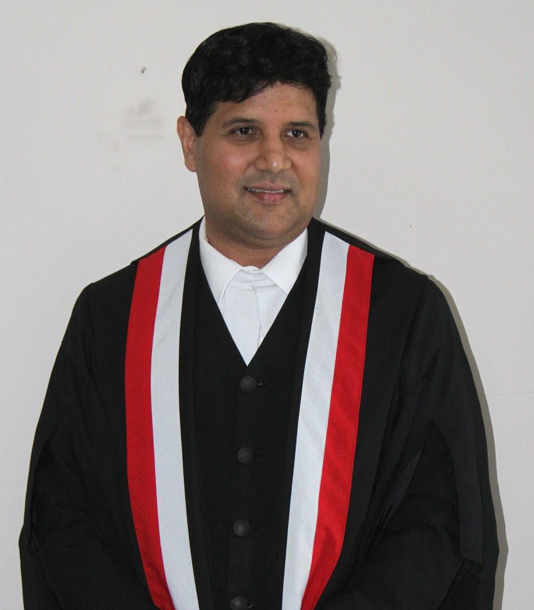 Justice Frank Seepersad