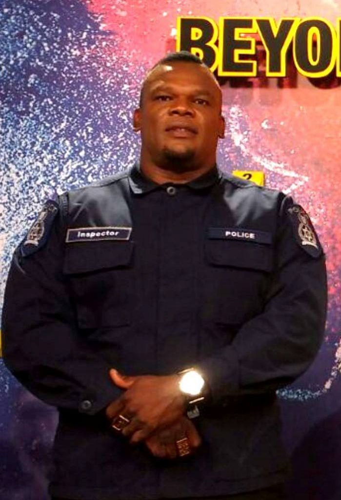 READY TO SERVE: ASP Roger Alexander, freed of an  assault charge.