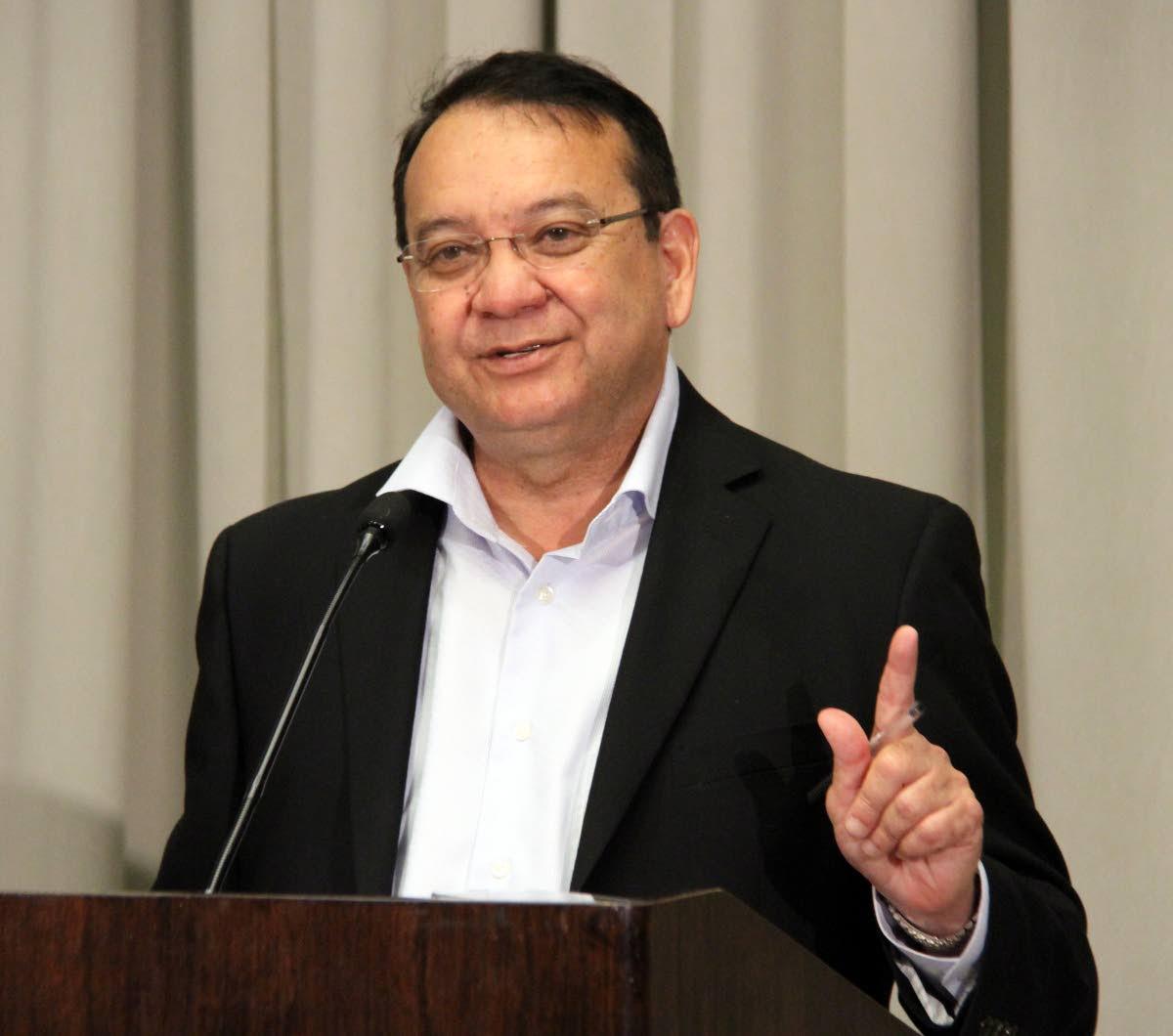 Energy Minister Franklin Khan.