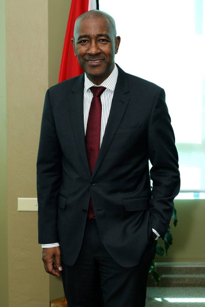 Minister of Public Utilities Robert Le Hunte.