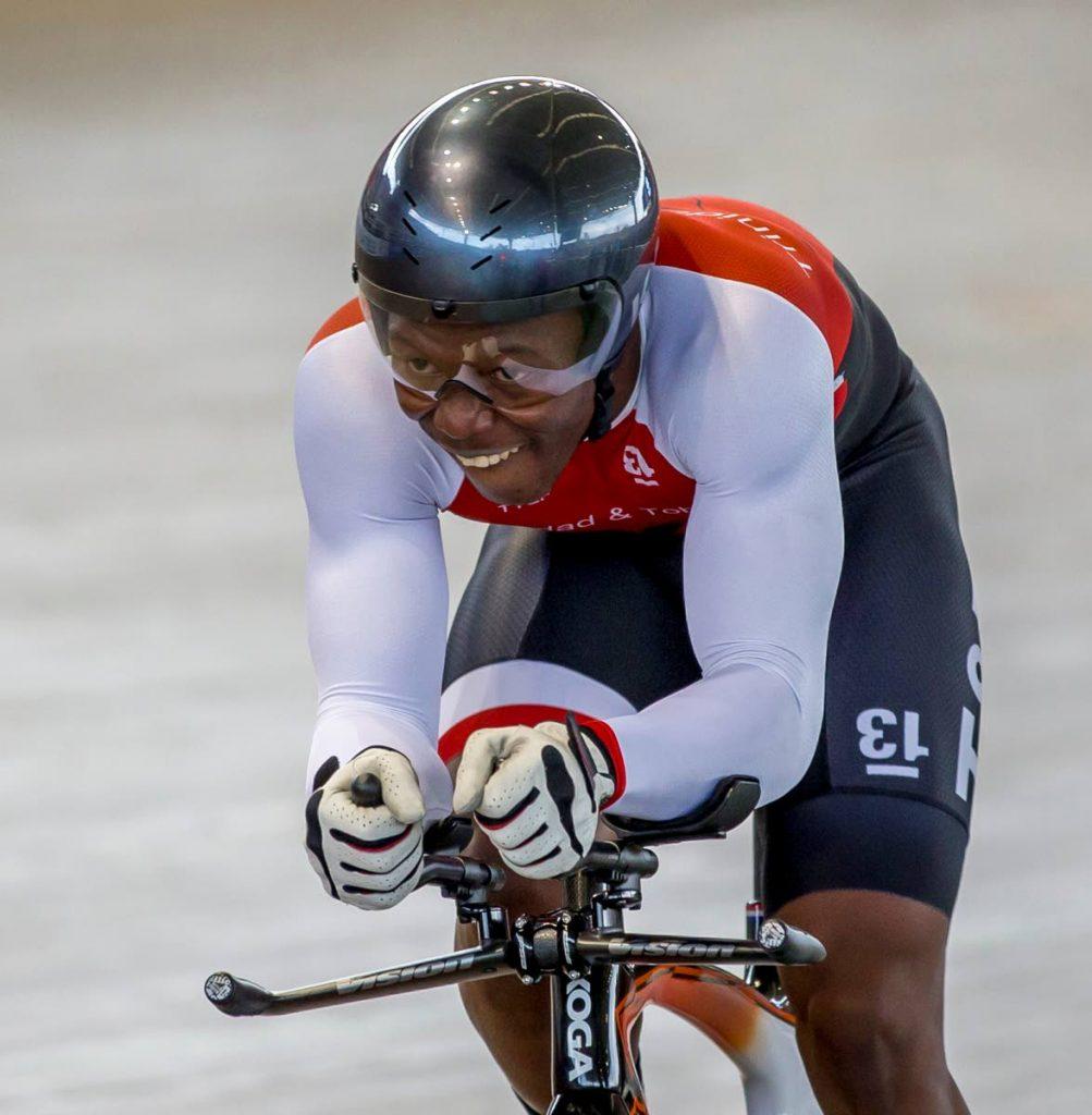 TT cyclist Nicholas Paul