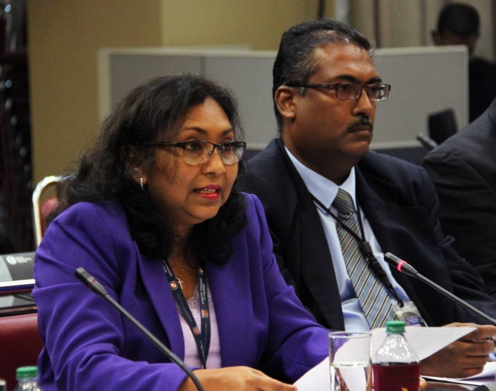 Chief Immigration Officer Charmaine  Gandhi-Andrews.