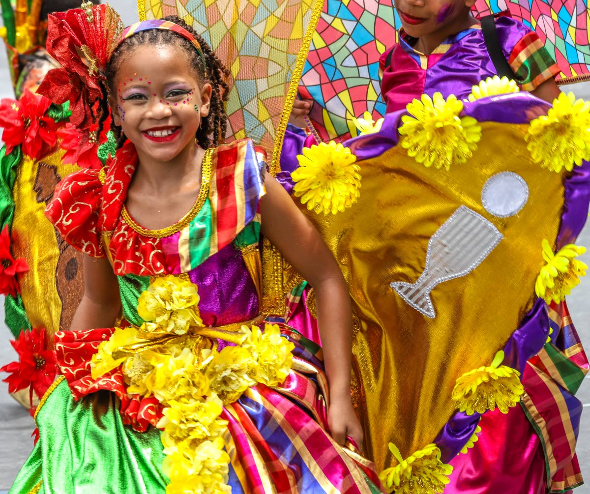 Francois Illas New Tradition: Carnival Lives On In Children's Mas