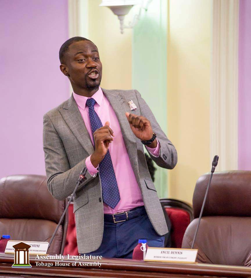 Assemblyman Farley Augustine