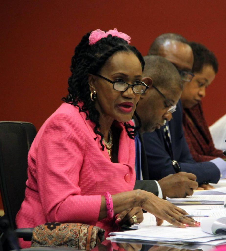 Labour Minister Jennifer Baptiste-Primus