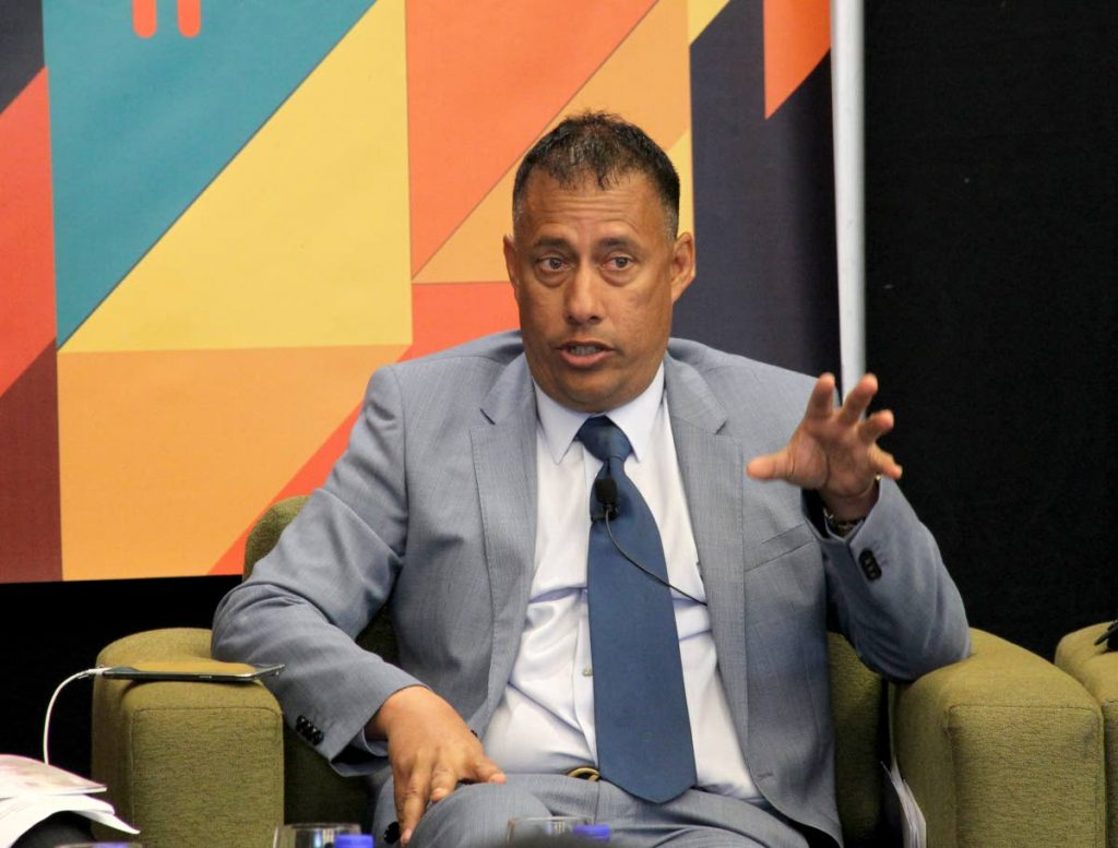 Commissioner of Police Gary Griffith
