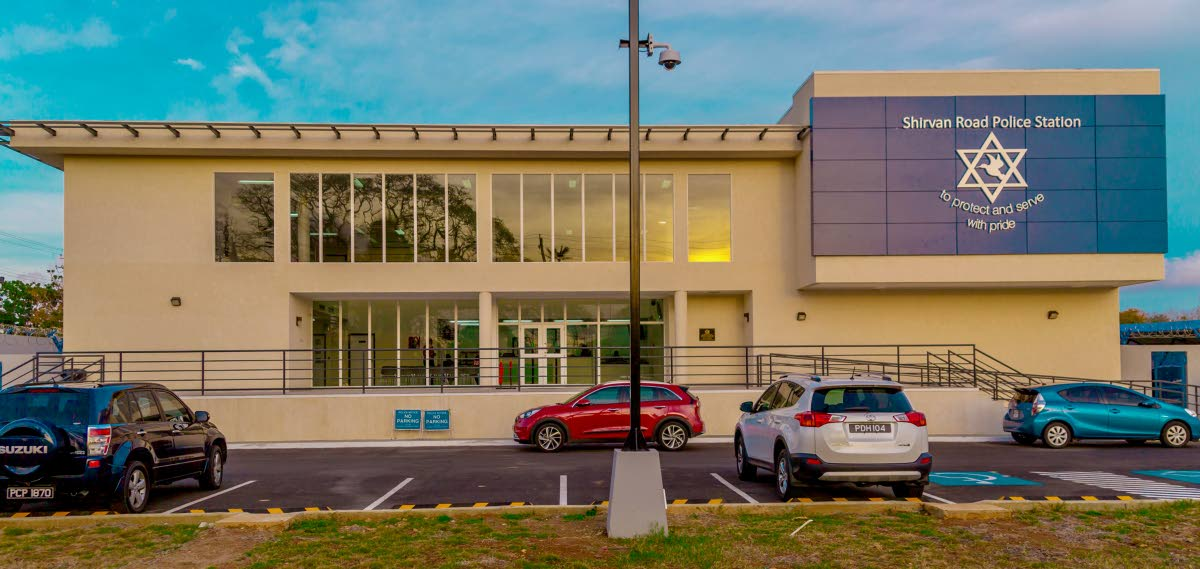 MODERN FACILITY: The new Shirvan Road Police Station is said to be the most hi-tech on the island. PHOTO BY DAVID REID