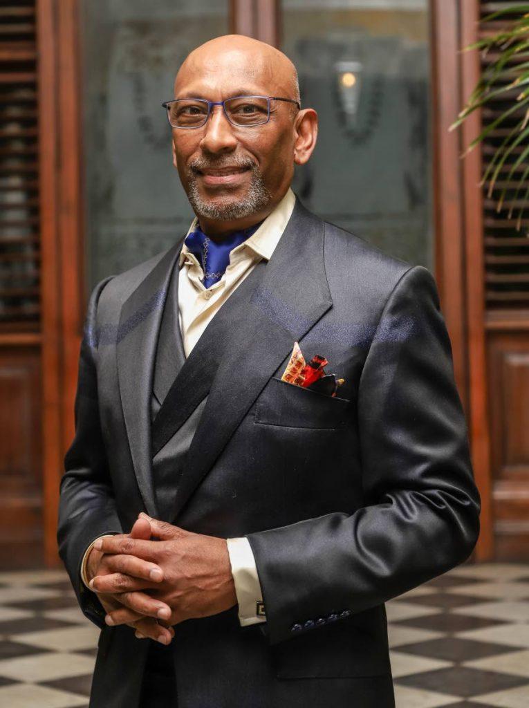 Saville Row Academy principal, Professor Andrew Ramroop.