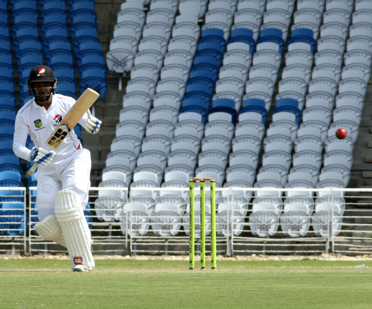 TT Red Force batsman Dinesh Ramdin