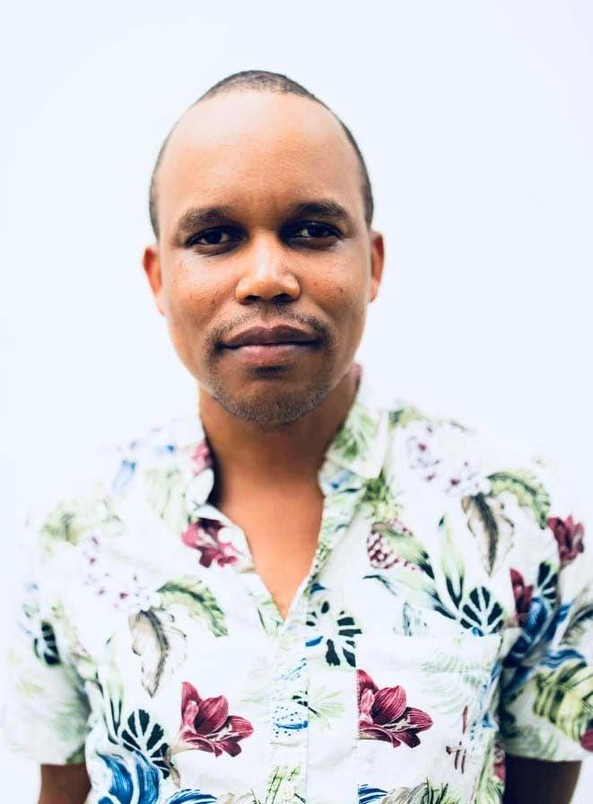 Bahamian filmmaker Kareem Mortimer.