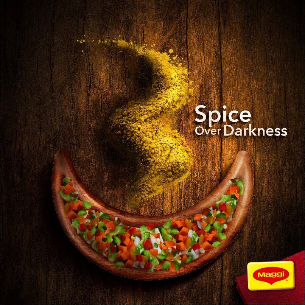 The Nestlé MAGGI 'Divali Spices' social media post, created by McCaann. It was one of 13 awards for social media the agency won at the Caribbean ADDY Awards. McCann won 45 awards, the most by any agency.