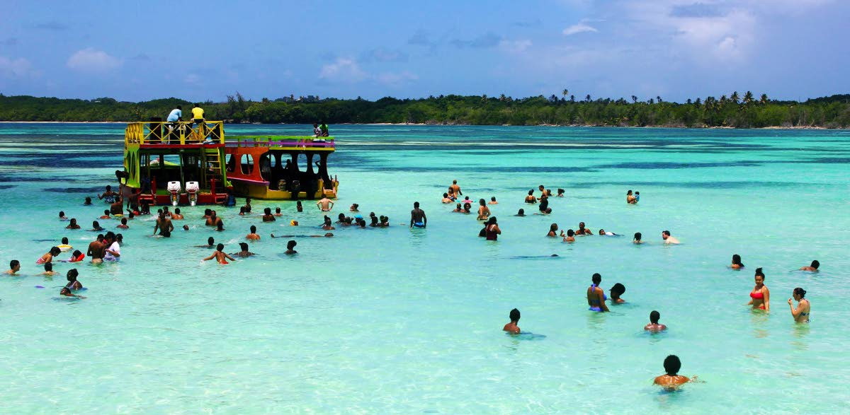 Chief executive officer of the Tourism Tobago Agency Louis Lewis notes that the Nylon Pool in Tobago is the only such natural phenomenon in the region.