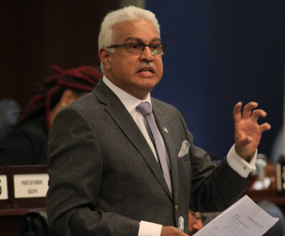 Health Minister Terrence Deyalsingh    PHOTO BY AYANNA KINSALE