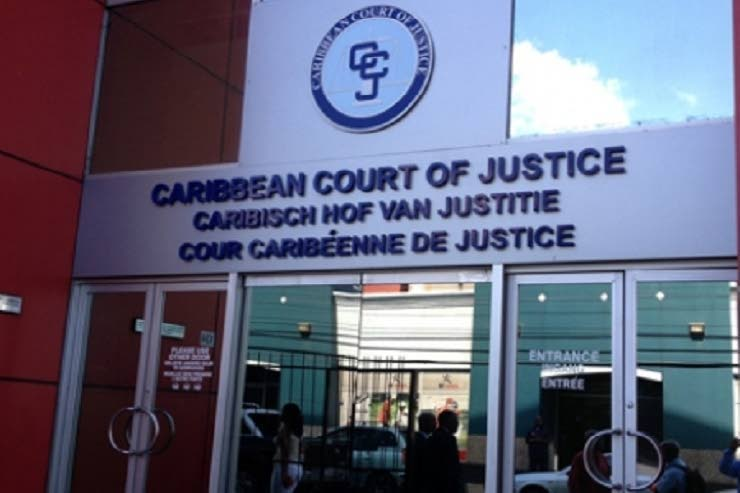 Caribbean Court of Justice in Port of Spain, Trinidad.