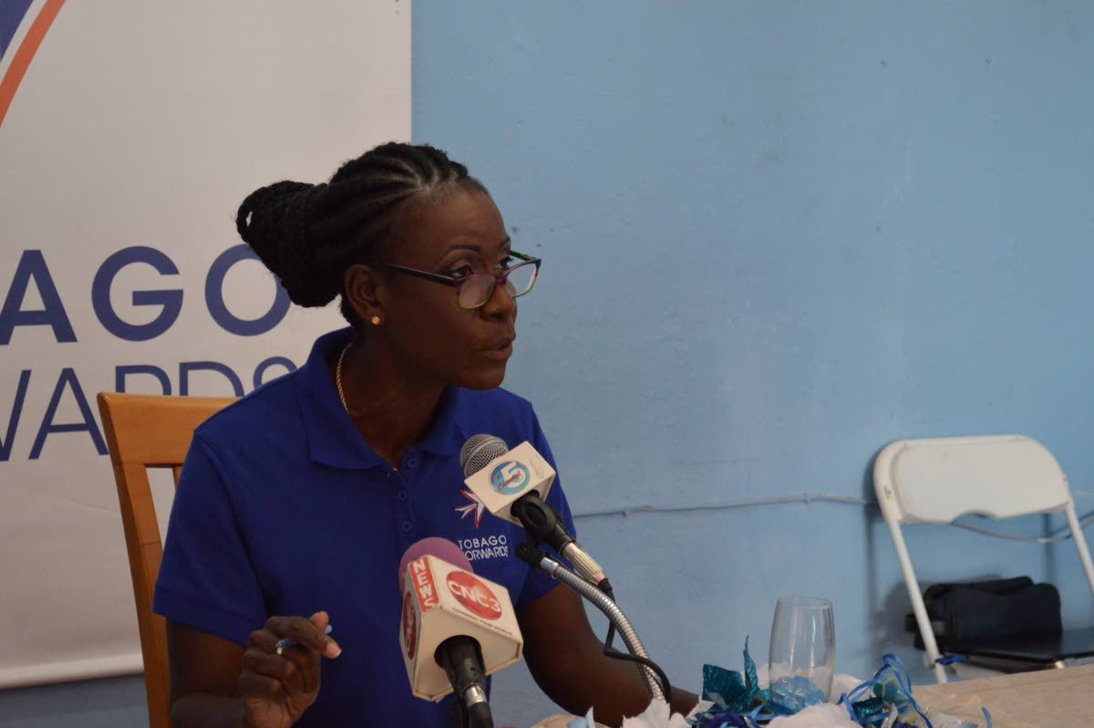 Political Leader of the Tobago Forwards Christlyn Moore. FILE PHOTO