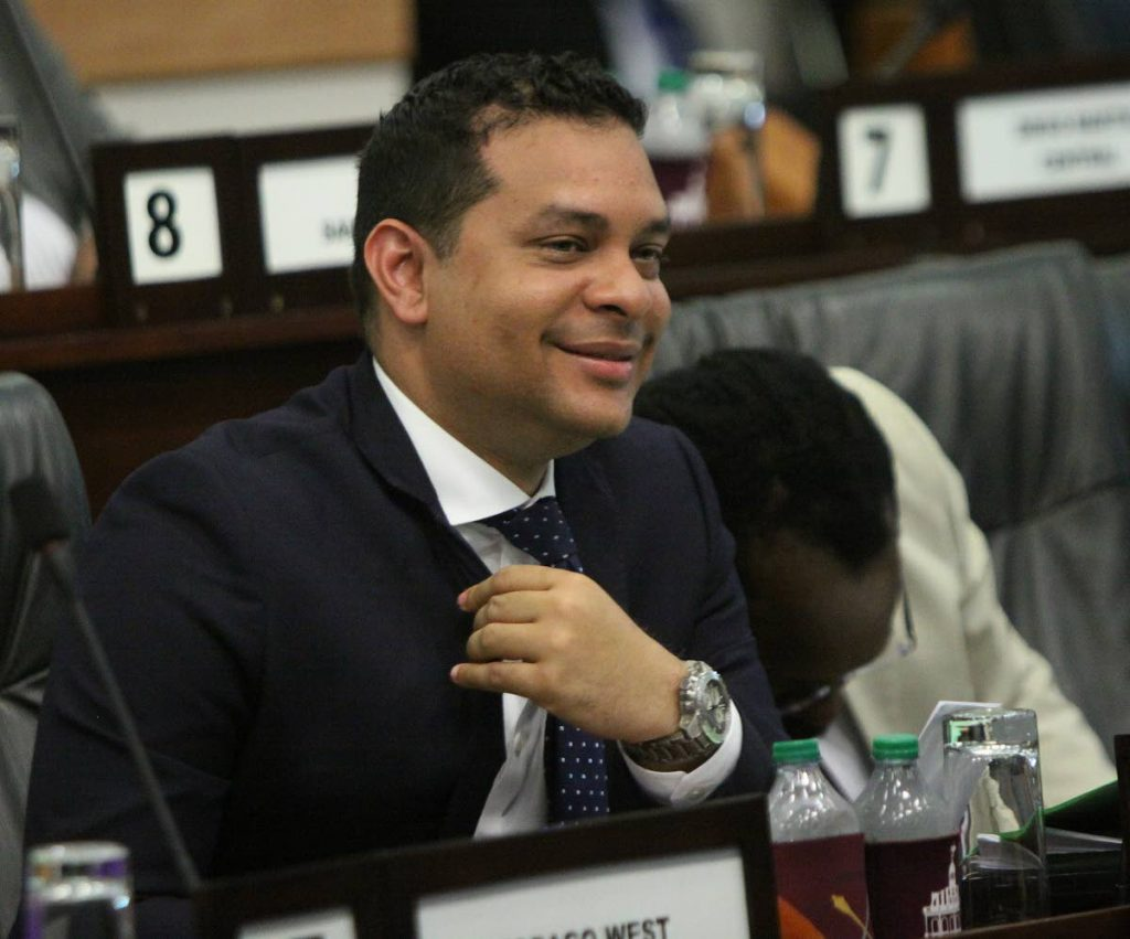 File Photo: San Fernando East MP, Tourism Minister Randall Mitchell. Photo by Angelo Marcelle