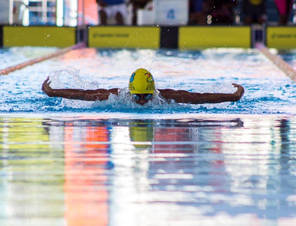 Giovanni Rivas will be competing in the Carifta boys 11-12 age group. PHOTO BY MELANIE WAITHE