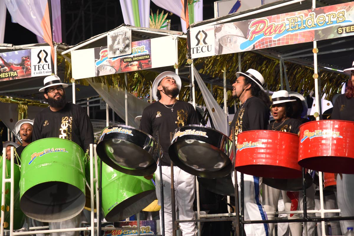 2019 Panorama Medium Band Champions Pan Elders during their performance at Panorama Finals in the Queen's Park Savannah on Carnival Saturday (March 3). Pan Trinbago president Beverly Ramsey-Moore is proposing that Panorama Medium Band Finals be moved to Tobago.