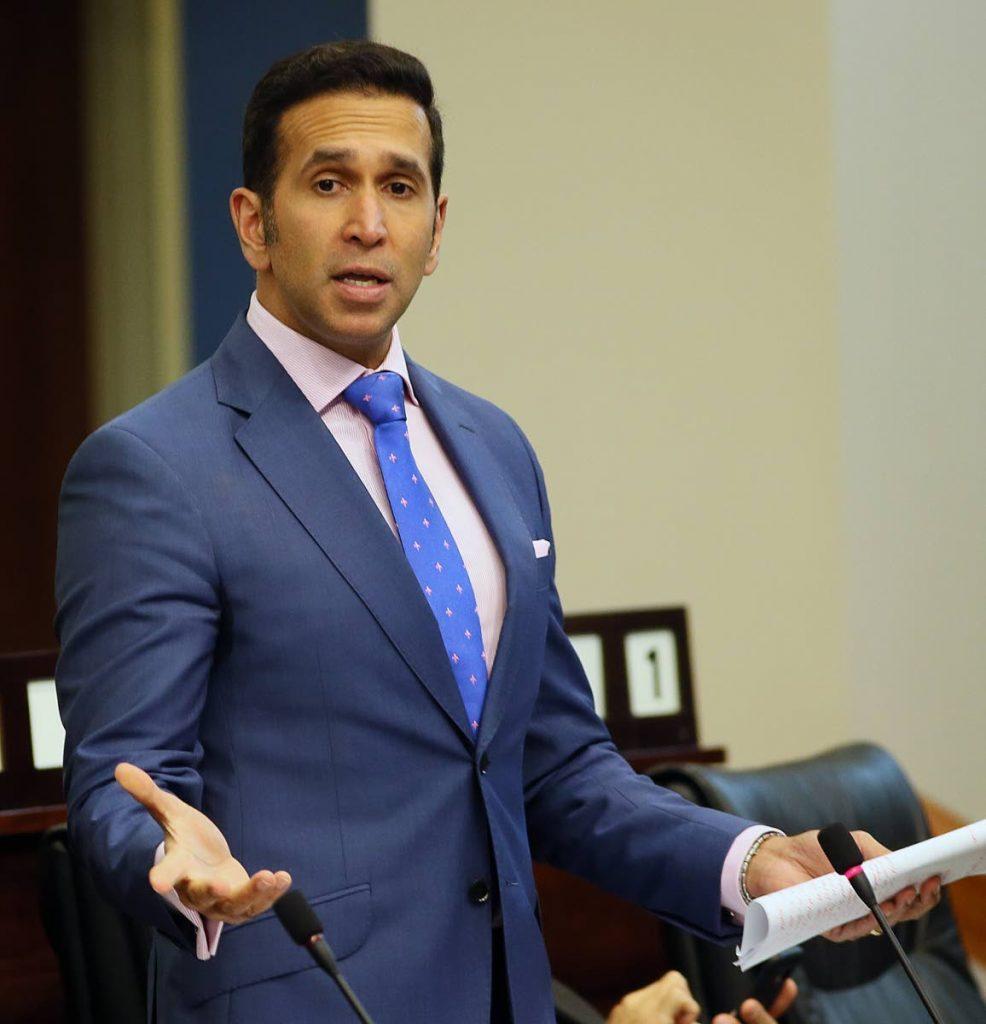 Attorney General Faris Al-Rawi in Parliament. FILE PHOTO