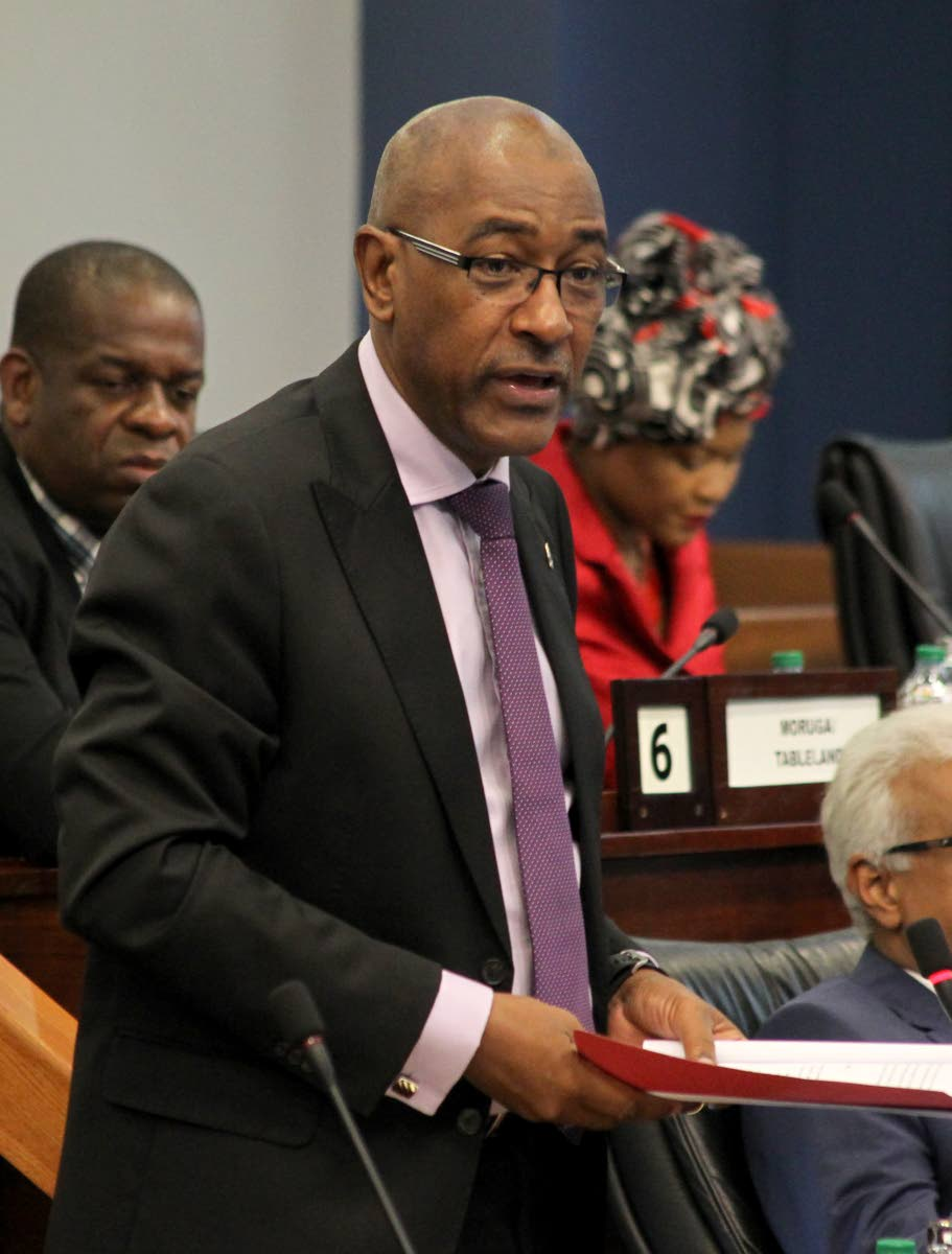 Public Utilities Minister Robert Le Hunte