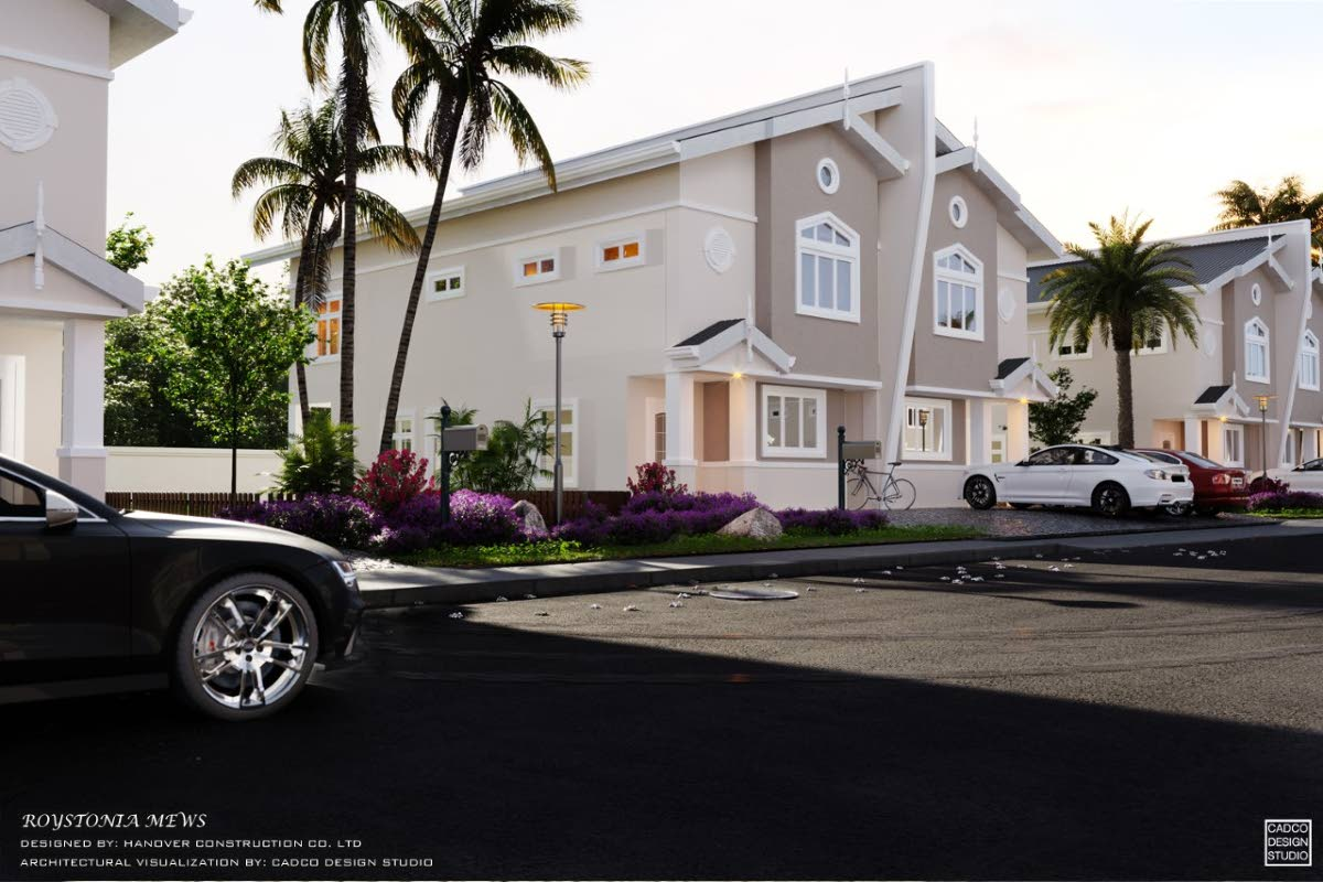 A new 32-unit luxury residential community, Roystonia Mews, is to be bulit at Piarco.