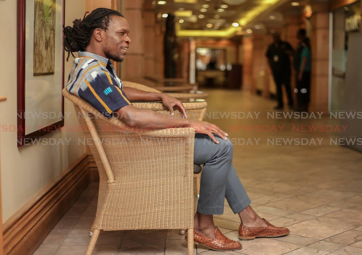 Growing up in Port Antonio, Jamaica, poet Ishion Hutchinson, in Port of Spain's Kapok Hotel, now lives in Utah.