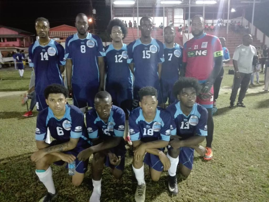 MIC footballers defeated Seed of Greatness 2-1 on Saturday in the Sweet Sixteen Football League at Ojoe Road Recreation Ground, Sangre Grande.
