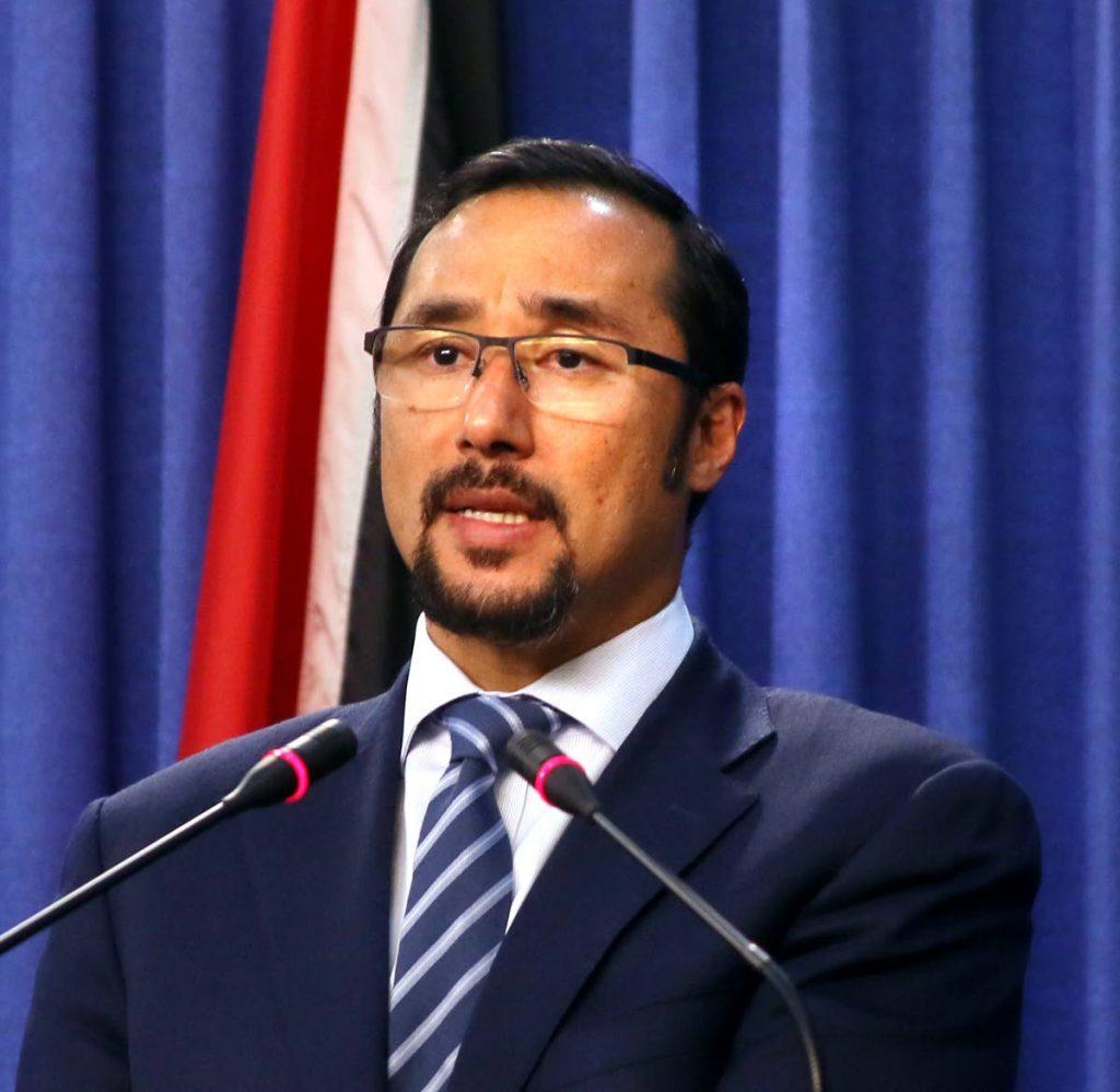 National Security Minister Stuart Young.    Photo: Sureash Cholai
