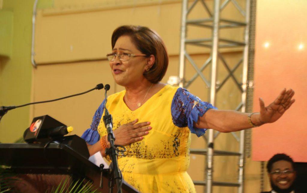 UNC Political Leader Kamla Persad-Bissessar.