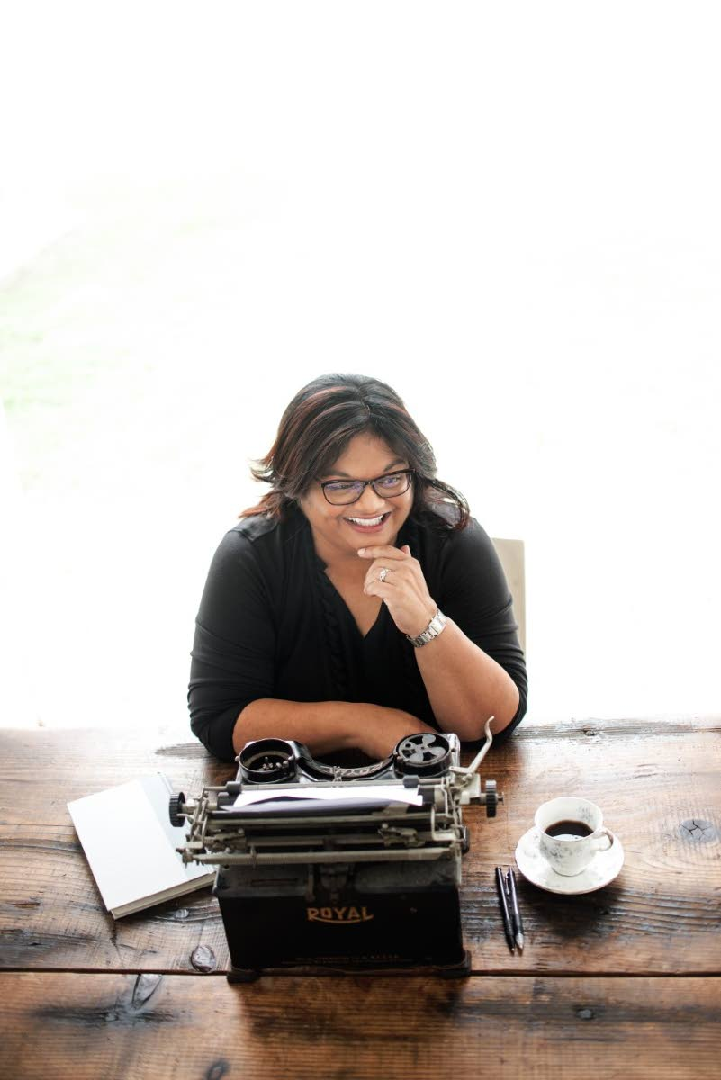 TT-Barbados writer Ingrid Persaud author of upcoming novel Love After Love which will be published in 2020. Photo courtesy Jaryd Niles-Morris.