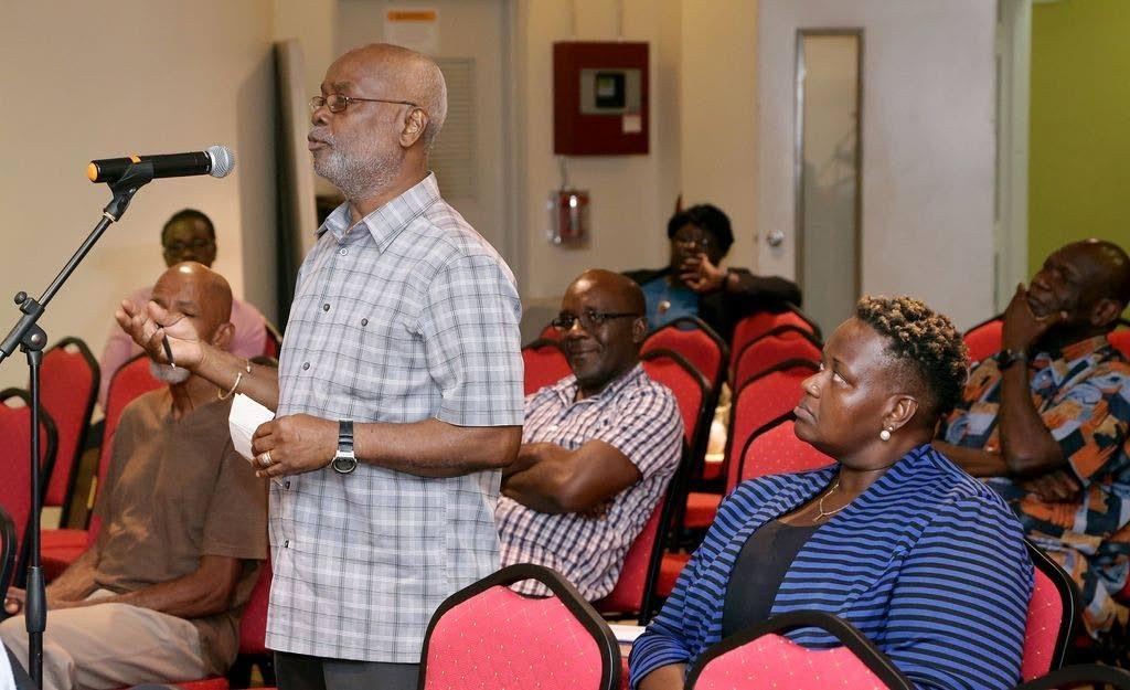 PNM Tobago Council chairman Stanford Callender