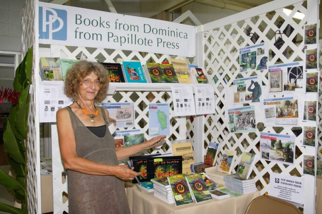 Writer and publisher Polly Pattullo.   Photo: Celia Sorhaindo