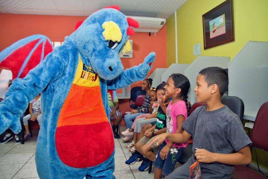 The Bocas Lit Fest Children's Festival comes to Port of Spain tomorrow.