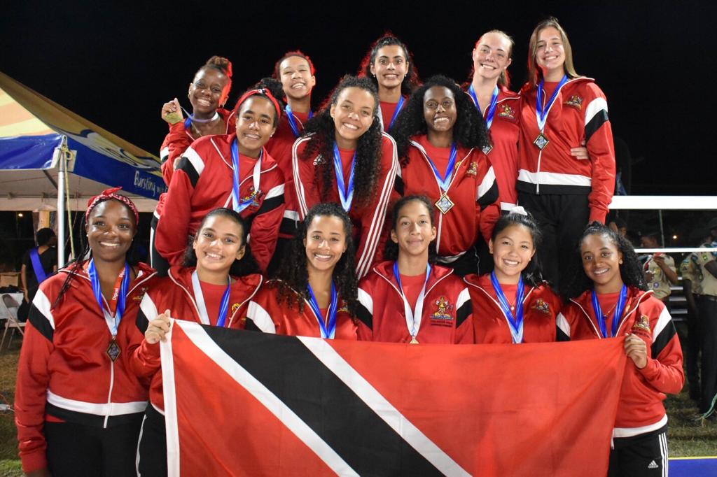 TT Under-19 water polo girls won gold yesterday at the Carifta Aquatics Championships in Barbados.