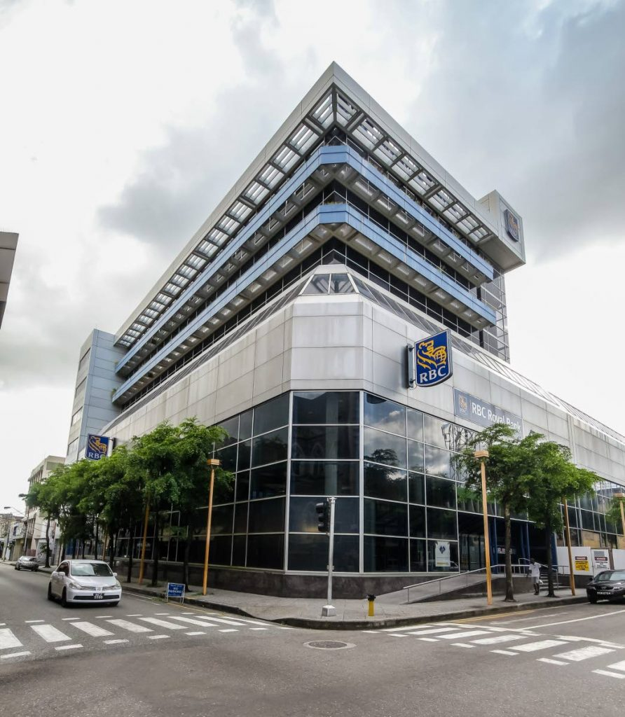 RBC on Park Street, Port of Spain. Photo by Jeff K Mayers