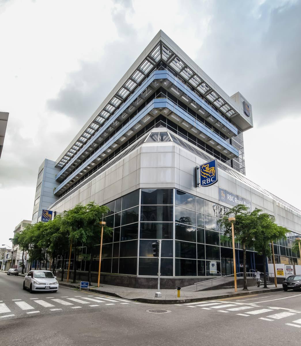 RBC on Park Street, Port of Spain. Photo by Jeff K Mayers