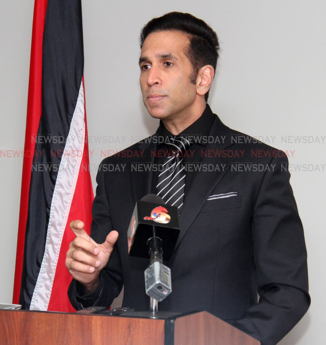 Attorney General Faris Al Rawi. Photo by Angelo M. Marcelle