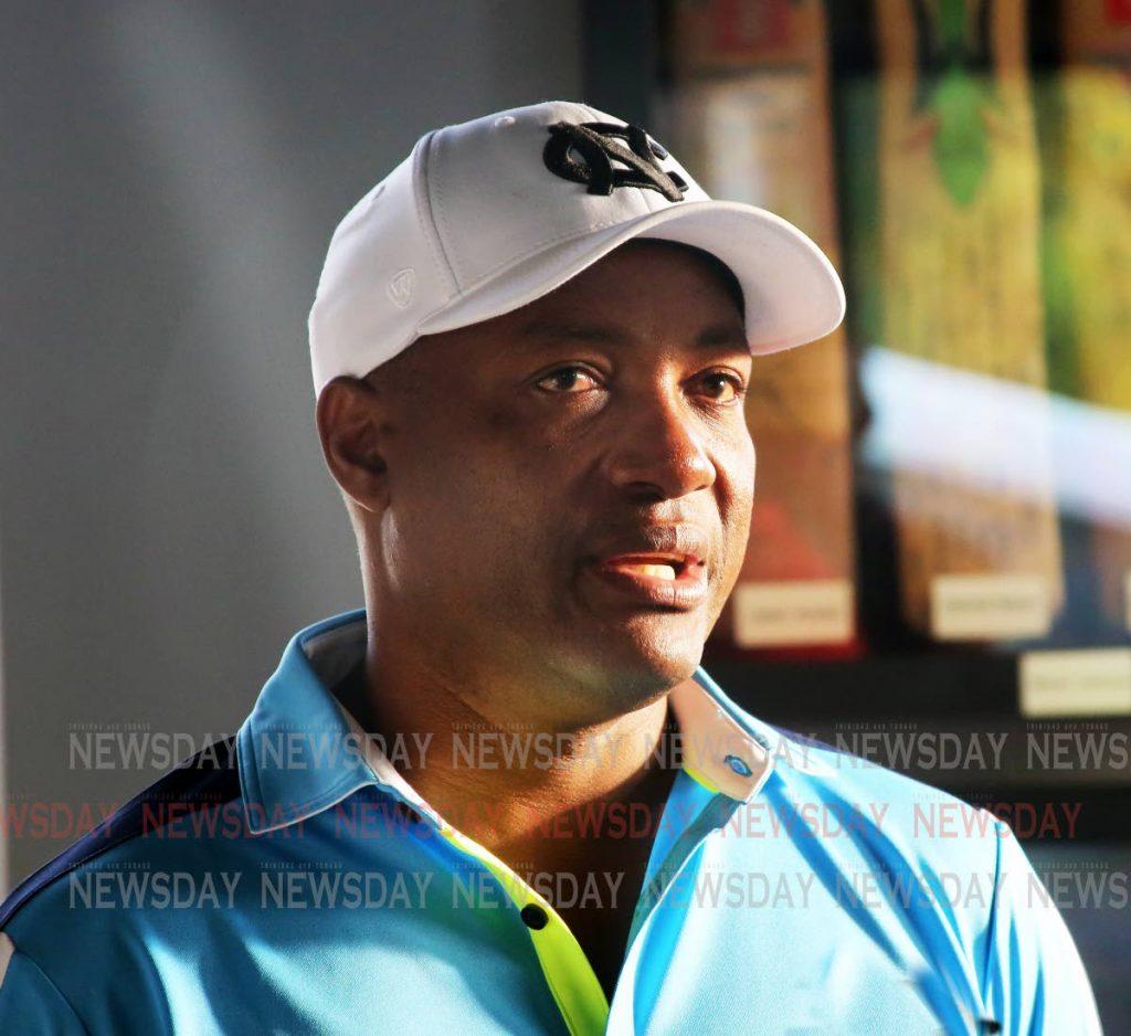 Former West Indies captain Brian Lara. PHOTO BY SUREASH CHOLAI