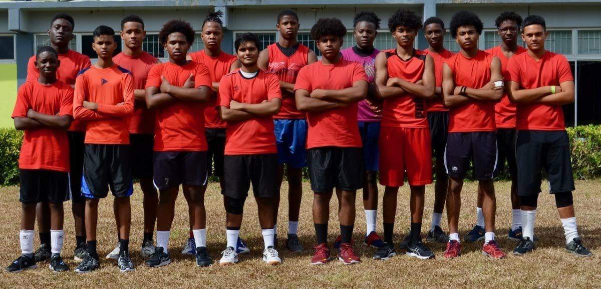 TT's U19 men's volleyball team.